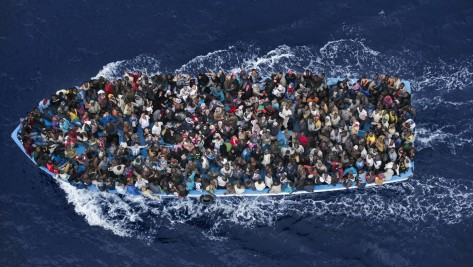 Libyan-refugees-boat